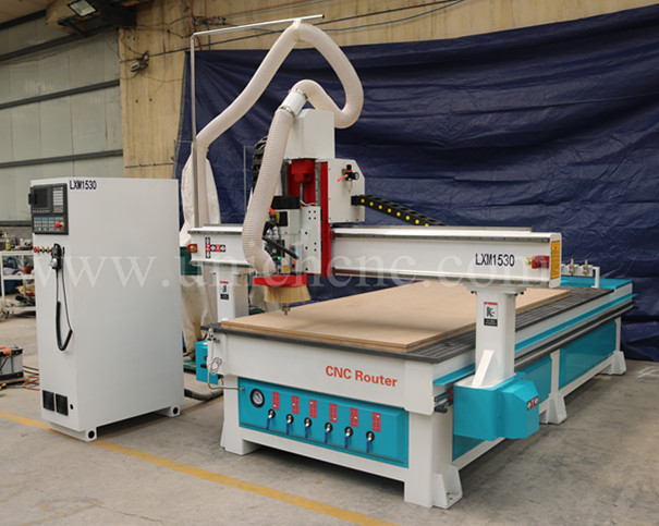Automatic tool change best price wood door making machine cnc router machine