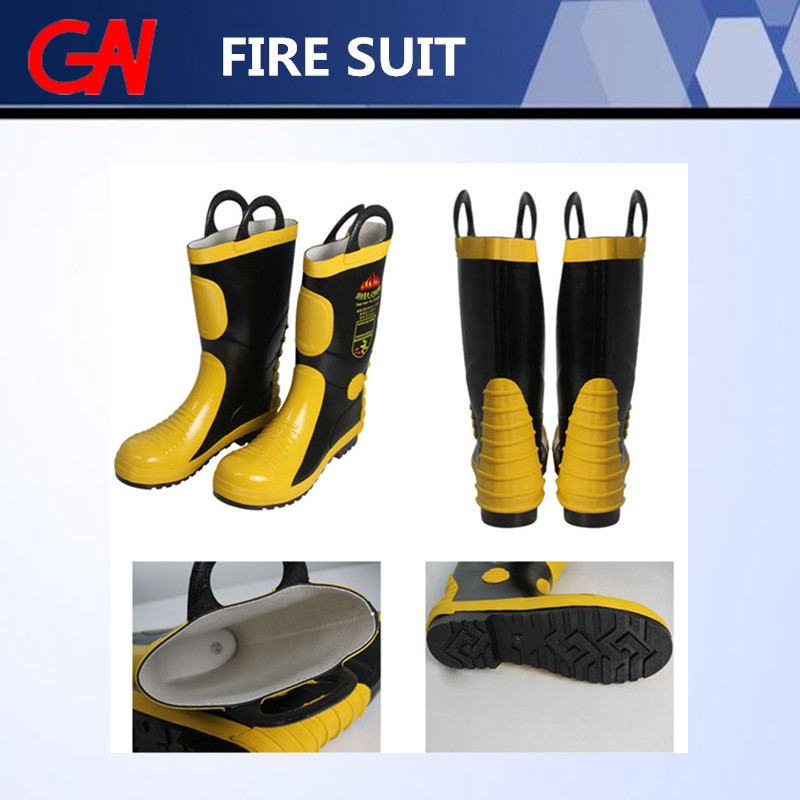 High Quality Fire Fighting Safety Boots