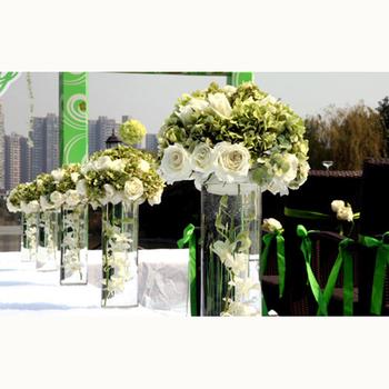 Wholesale Fashion Design Wedding Large Acrylic Vase Buy Acrylic