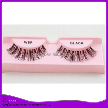 Hot sale eyelash 100 remy human hair eyelash