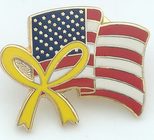 Custom USA national/united nations country flag pin 000305