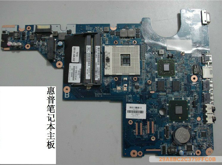 608824-001 For HP CQ42 G42 G62 intel Motherboard , System Board, Mainboard