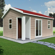 2018 new design pre-fabricated mobile 1 bedroom villa wpc building