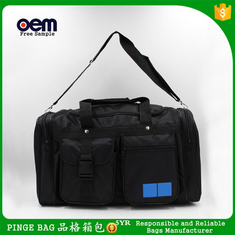 Customized Logo Large Capacity Nylon Folding Bags Sports Duffle Bags Outdoors Travel Trunk Luggage Bag Manufacturer