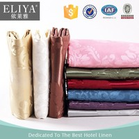 Guangzhou eliya modern dining table cloth chair covers for hilton