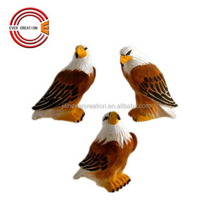 wholesale hand carved wooden carving eagle