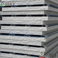 z lock joint expanded polystyrene foam/EPS insulated sandwich wall panel