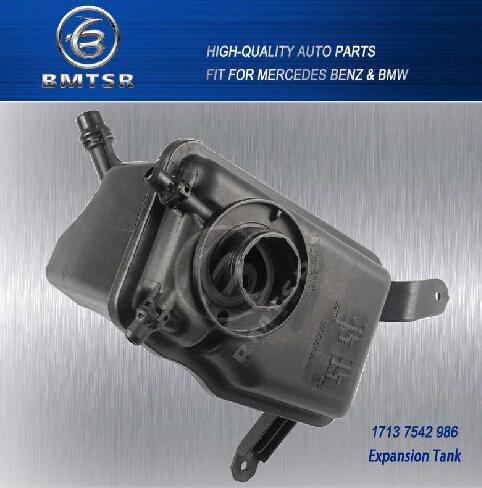 BMW E60 E61 E63 WATER COOLANT RESERVOIR EXPANSION TANK 17137542986