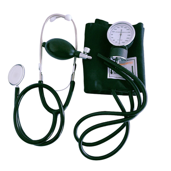 Accurate Stethoscope Blood Pressure Monitor Aneroid Sphygmomanometer blood pressure monitor With Dual Head Stethoscope