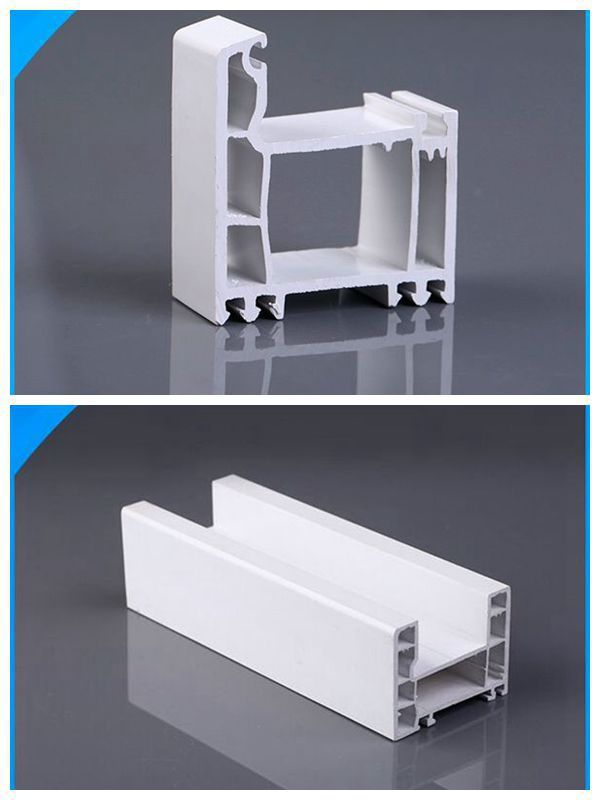 Pvc Door Frame Detail : Plastic pvc extrusion frame profile for glass shower doors