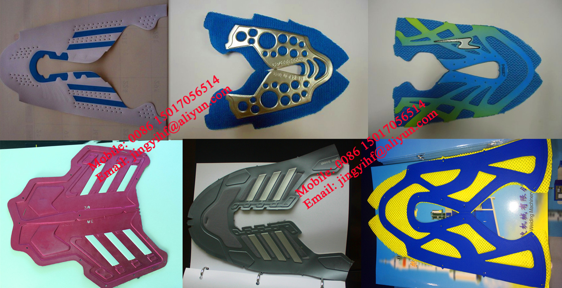 JingYi Brand TPU and PU Synthetic Leather Sport Shoes Cover High Frequency Welding And Embossing Machine