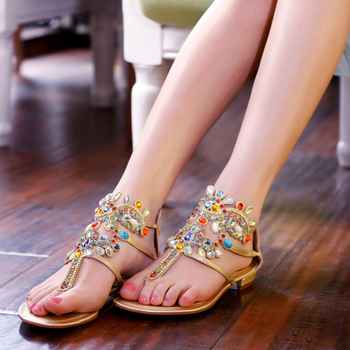 946c890a11a3b0 Wholesale Fashion New Design Summer Stylish Fancy Flat Sandals Women Daily  Work Casual Shoes