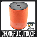 2mm survival kit 550 paracord 1000ft spool outdoor camping
