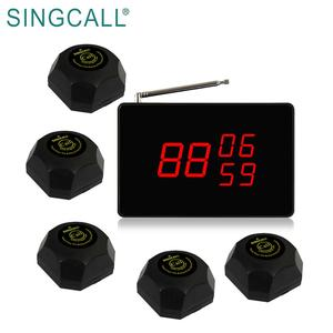 SINGCALL restaurant equipment wireless servant call system pager button