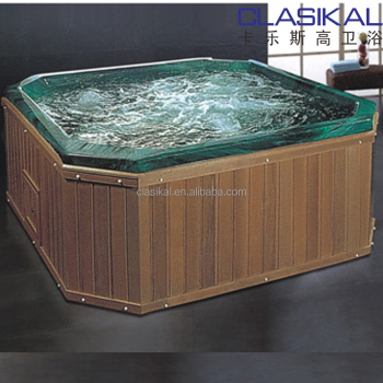 4 Person Can Use Together Big Size Wood Portable Massage Bathtub ...