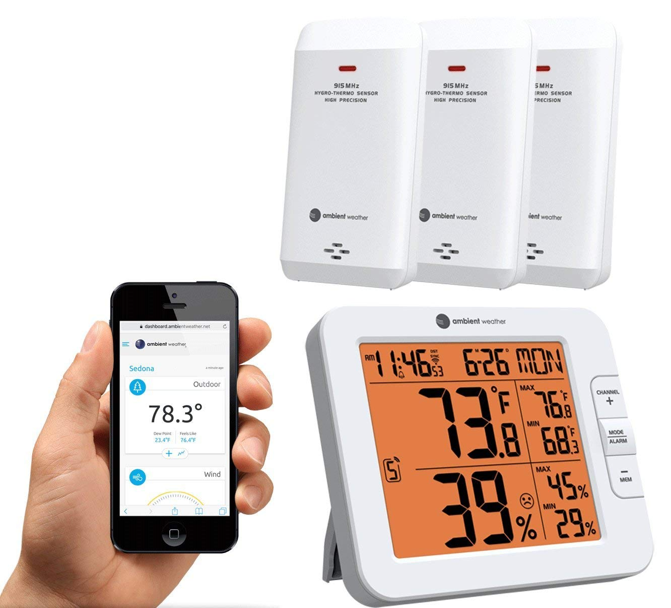 Cheap Weather Station Sensors, find Weather Station Sensors deals on