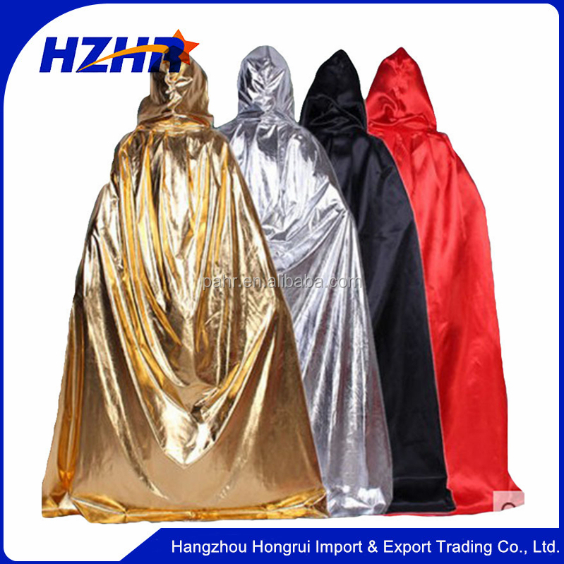Halloween Manteau Cosplay Costume Cape Carnaval Culte Capot Robe Manteau Halloween Manteau À Capuchon Cape Robe Cosplay Costume