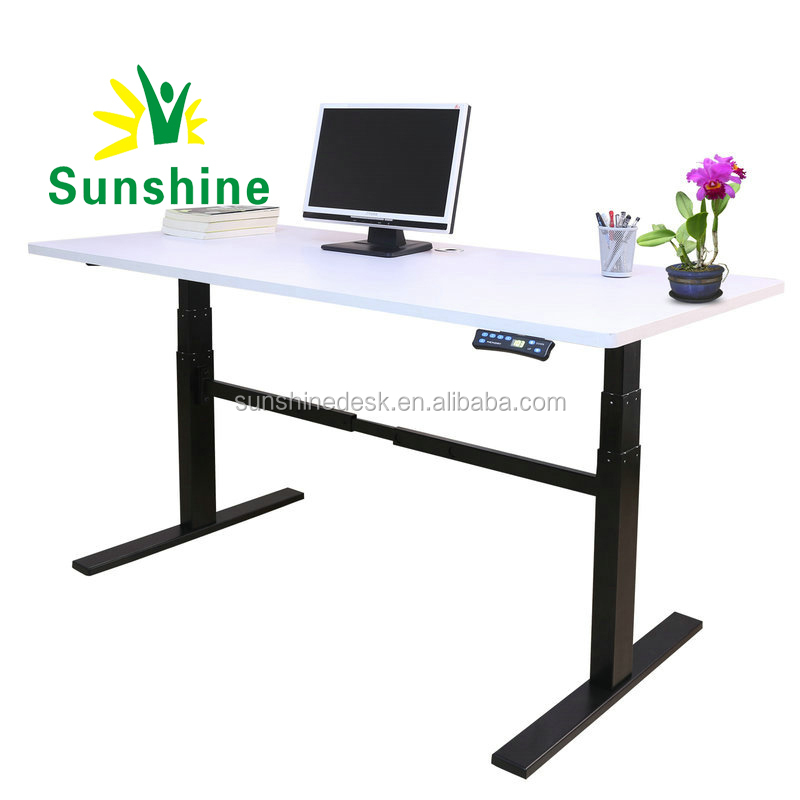 Electric Height Sit Stand Adjustable Standing Desk Buy