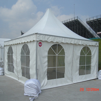special party square pagoda tent gazebo 6m x 6m