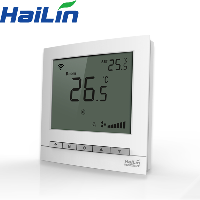 Flush Mounting under floor heating zigbee radiator thermostat