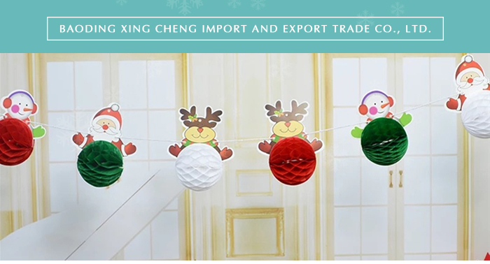 Tissuepapier Honingraat Bells Kerst Bel Party Opknoping Decoratie Bruiloft decoratie Jingle Bell
