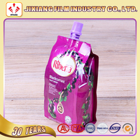 Juice/Jelly/Beverage Stand up Spout Pouch for liquid packaging