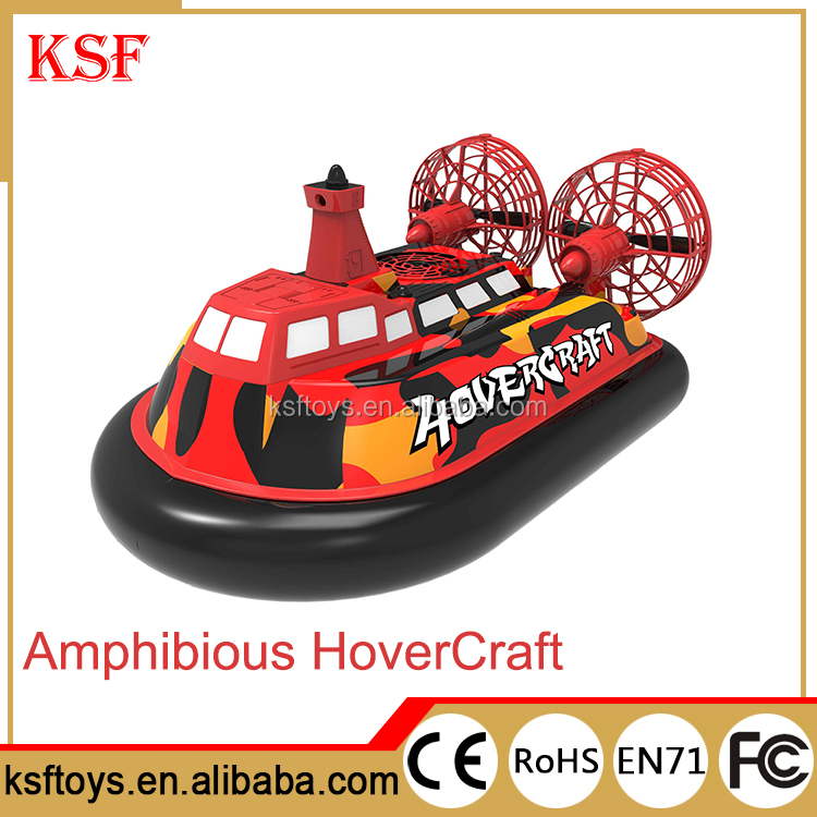 Original Flying YL-088 amphibious Hovercraft WIFI FPV Radio Control RC inflatable Boat