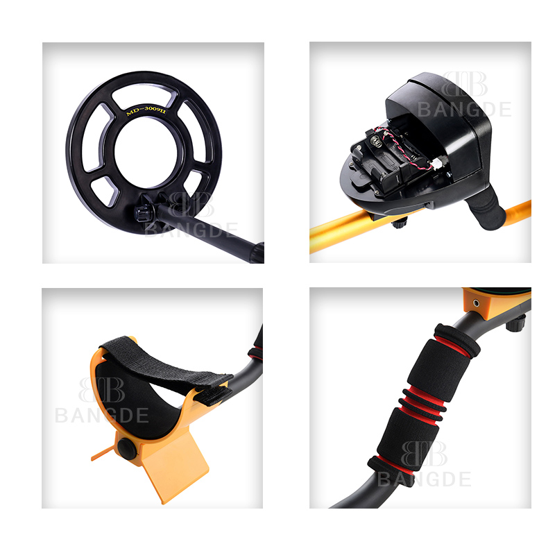 2019 Hot Saling Professional Underground Metal Detector MD3009II Gold Ground Nugget High Sensitivity Silver Finder MD-3009ii