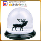 2016 custom mini snow globe souvenirs snow ball with deer inside