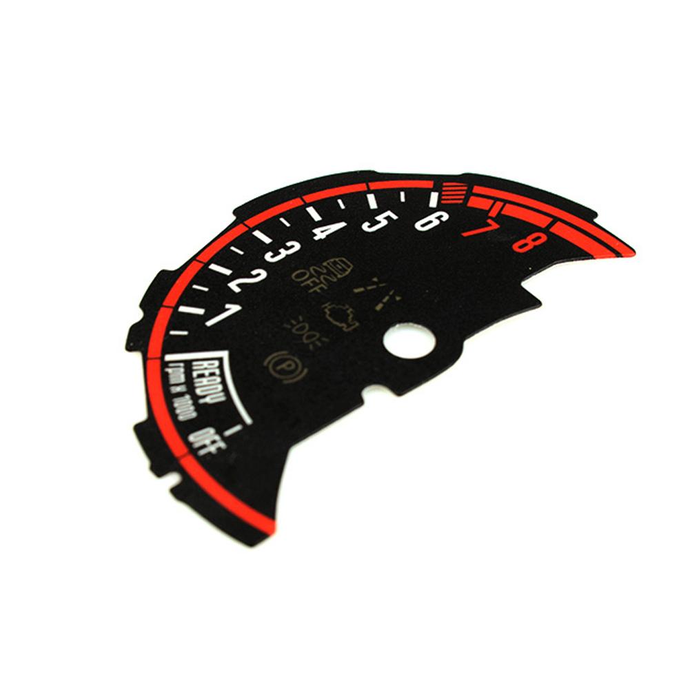 Instrument Cluster Sticker Speedometer Speedo Tachometer