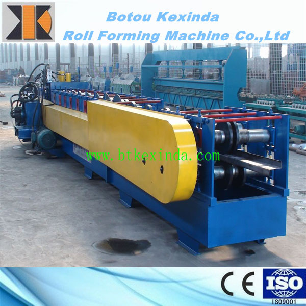 Steel Beam Z Purlin Making Machinery GI Steel Strip Z Shaped Steel Profile Cold Roll Forming Machine