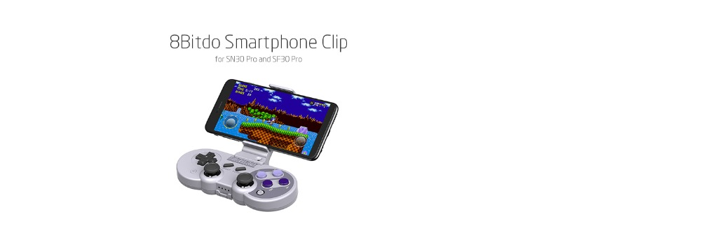8Bitdo Smartphone Clip for SN30 Pro SF30 Pro Gamepad 16