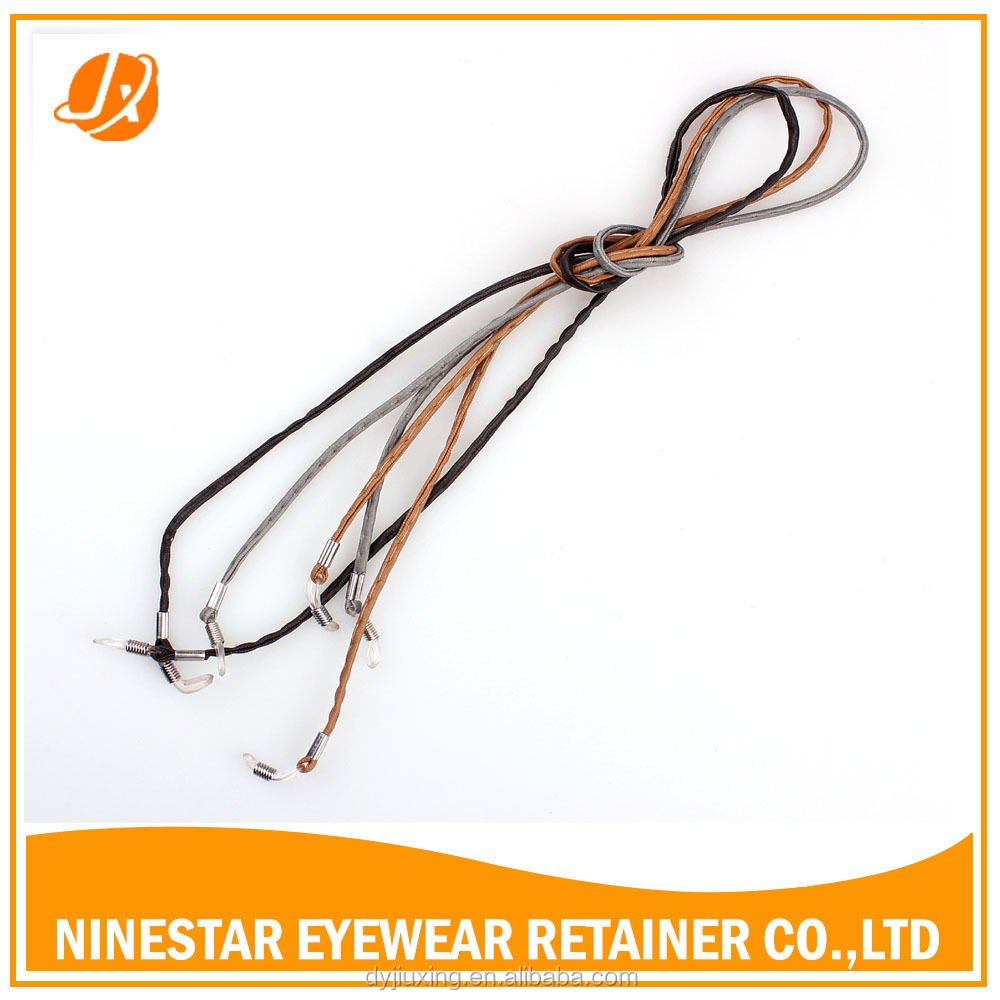 Leather Sunglass Strap  sunglass strap retainer flat leather cord string leather glasses