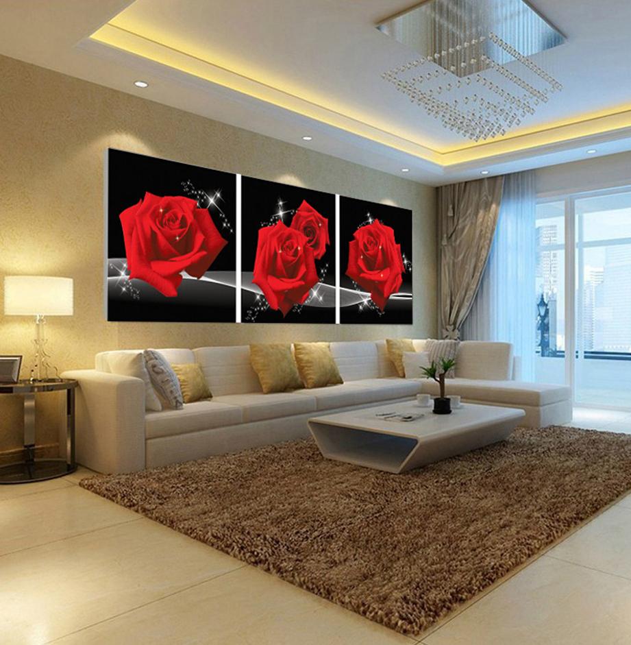 peintures murales pour salon restaurant peinture de la maison moderne rouge rose photo peintures. Black Bedroom Furniture Sets. Home Design Ideas