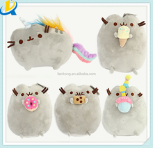 High quality Hot selling plush stuffed animal toys pusheen plush toy