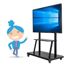 65 pollici touch Interattivo display A LED bordo di scrittura intelligente pannello con tutti in un pc smart classroom/scuola