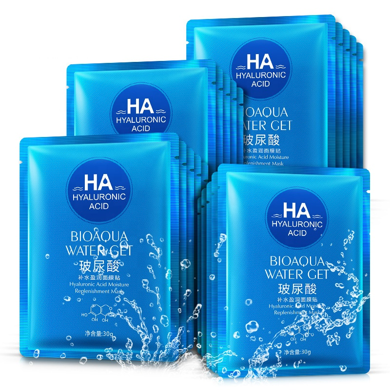 Acide hyaluronique hydratant masque facial hydratant raffermissant masque facial