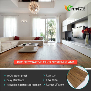 Factory Hot Selling Vinyl Wood Floor Plank Click