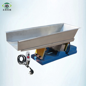 automatic small magnetic stone vibrate feeder