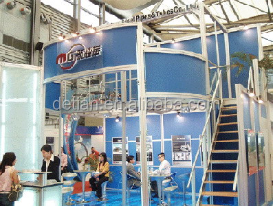 double deck exhibition booth for trade fair from Shanghai
