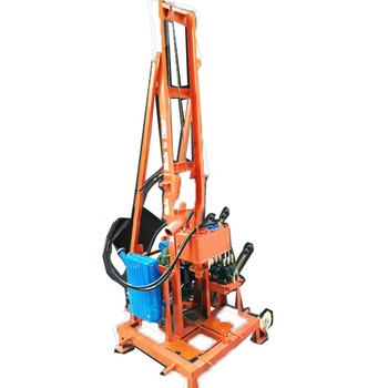 High effective SJZ-220 folding water well drilling rig