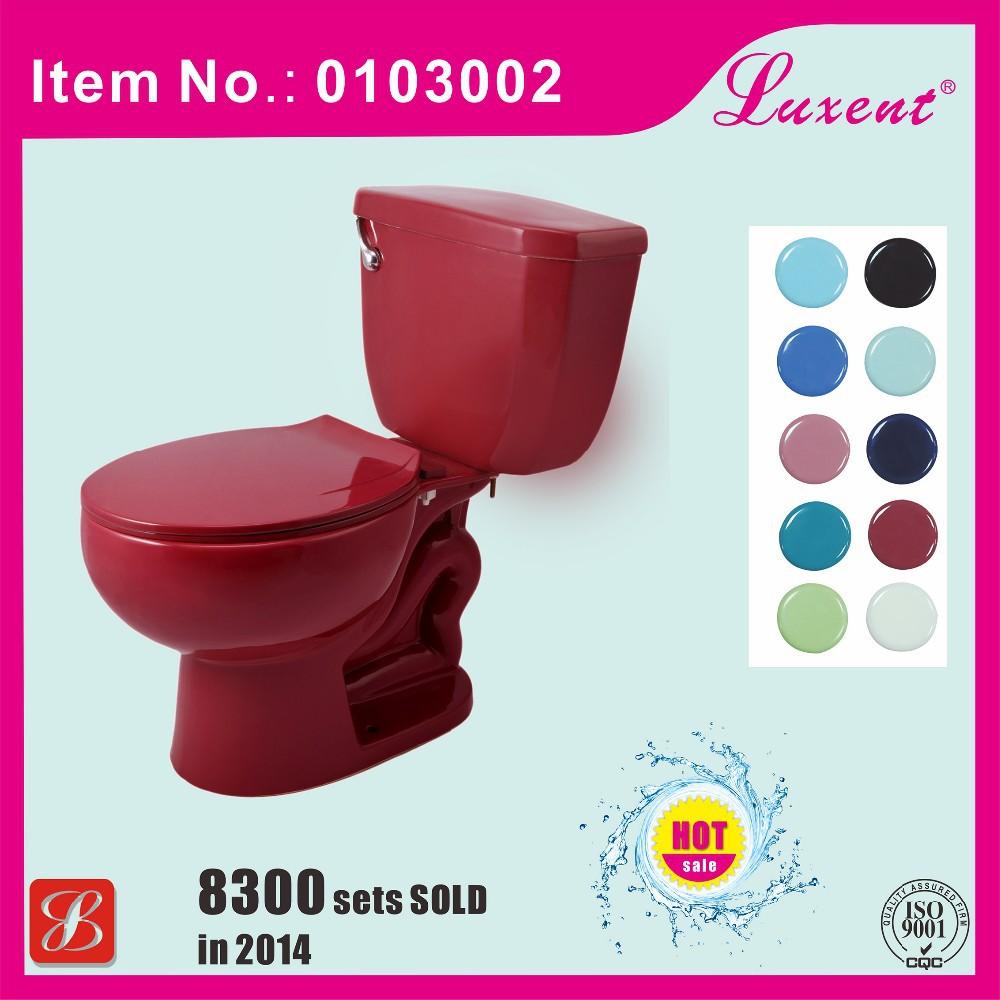 Siphonic duas pe as wc sanita de porcelana vinho de cor vermelho vasos sanit rios id do produto - Wc c olour grijze ...