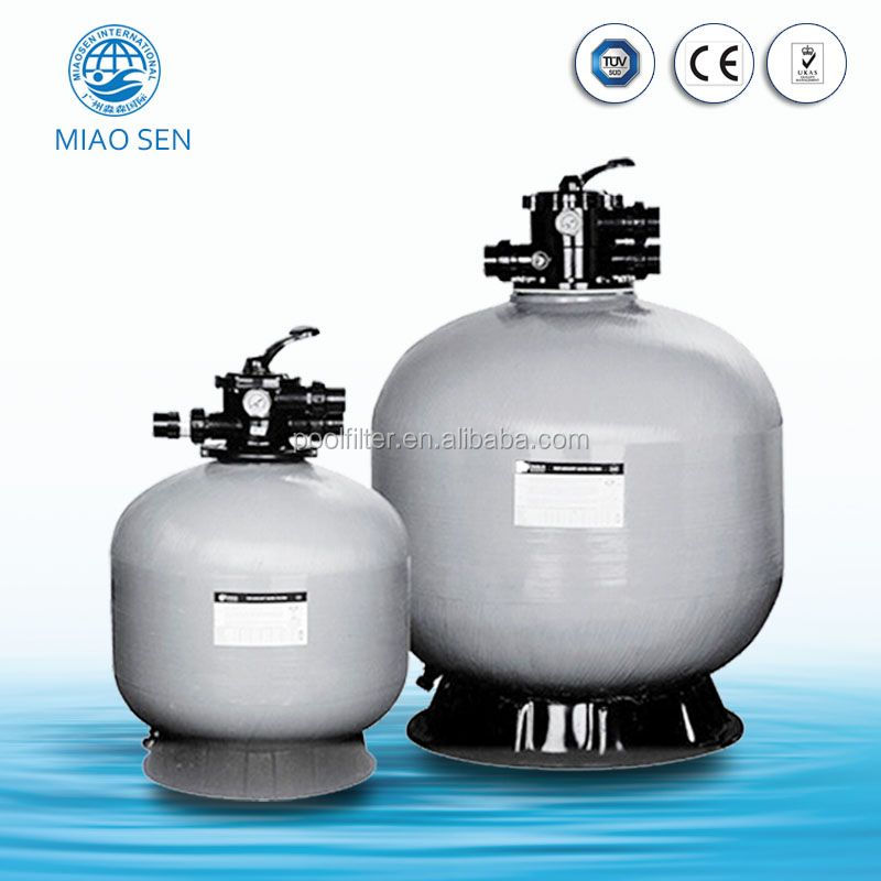 Durable Fiberglass Multi Point Valve Sand Filter Swimming Pool Filters