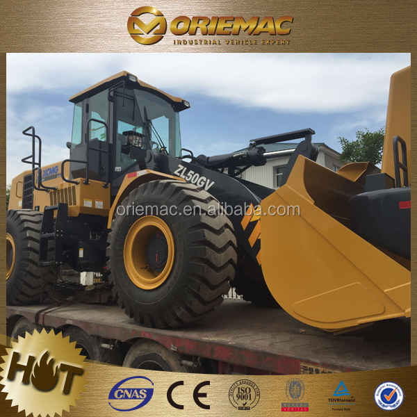 XCMG front end shovel loader ZL50GN/ZL50GV mucking rock loader