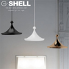 Modern led metal decor round replica silicone pendant light