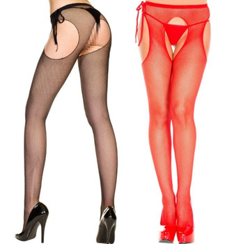 7d6b77d64beb0 Chinese cheap price sexy open crotch women nylon fishnet stockings  pantyhose tights