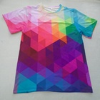 oem custom printing full color sublimation sport 3d t shirt