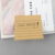 Memo pad sticky notessquare lined kraft paper office meeting note paper