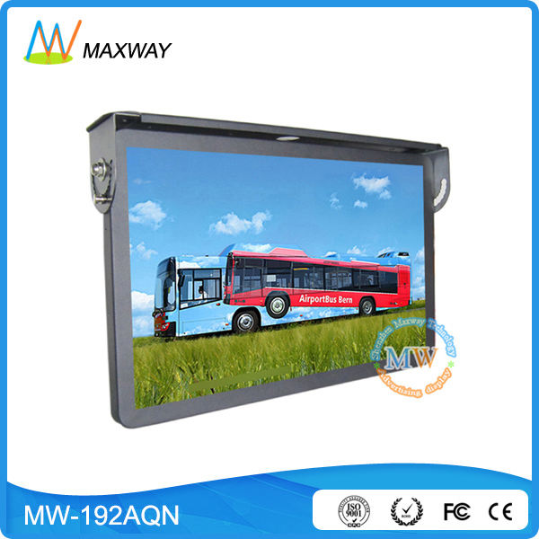 19 Inch Roof Mount Or Mouting On Tube Bus Tv Lcd Ad Screen
