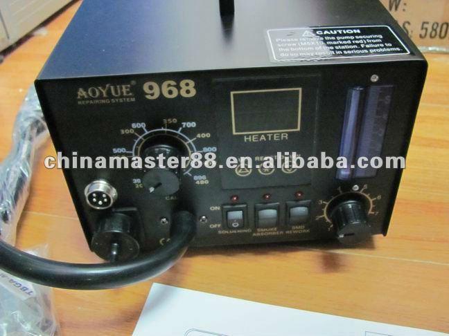 Aoyue 968 СМД / SMT воздушный, 3 in1 ремонт и паяльная станция с 220 В